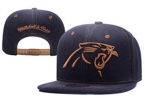 NFL Carolina Pathers M&N Snapback Hats Navy Brown|only US$6.00 - follow me to pick up couopons.