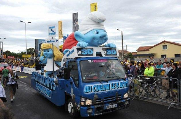 Tour de France publicitycaravan