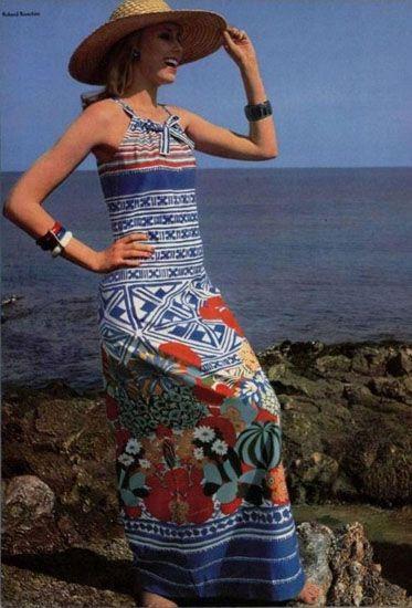 Черты стиля хиппи в одежде 1970-х
