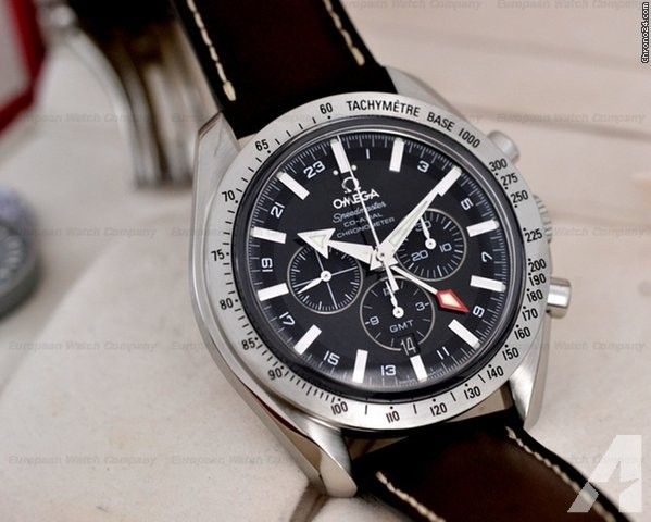 Omega Speedmaster Broad Arrow GMT