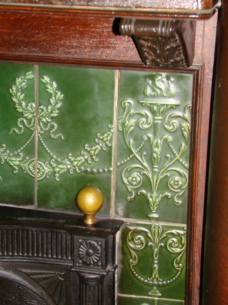 Fireplace Tiling In The Main House Dining Room At Breeden Inn Breedeninn