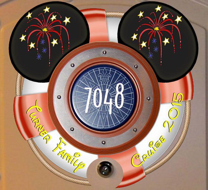 FREE Sorcerer Mickey Disney Cruise Door Magnet Decoration