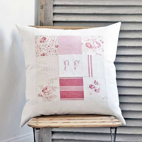 Patchwork Cushion | Flickr - Photo Sharing!