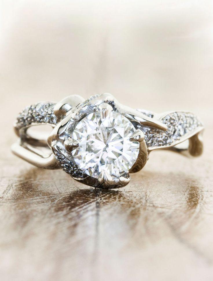Organic engagement ring - Sundara - Ken & Dana Design My favorite #engagement #ring ever!