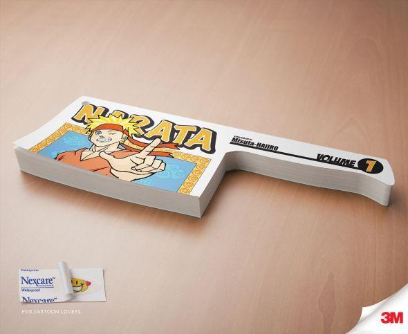 3M Nexcare: Paper Cut, Ninja