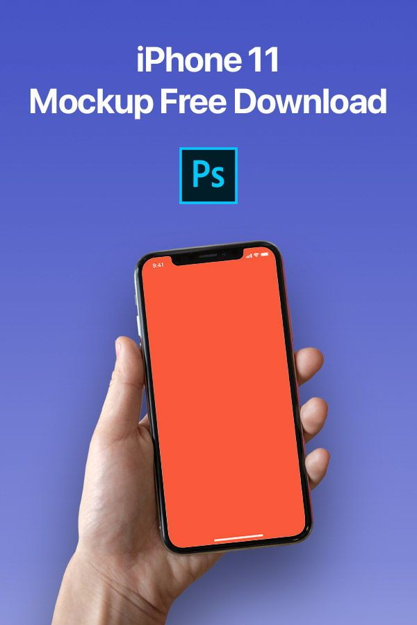 In This Free Psd There S A Hand Holding An Iphone X On A Customizable Background Included In The File There Are Two Main Layer Iphone Mockup Iphone Mockup Psd