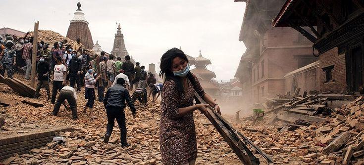 Canadian Red Cross - Serving Nepal - Change the world with art! www.nataliesalminen.com