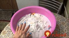 Celý život som robila v školskej jedálni a to bez umývačiek riadu a ďalších vymožeností. Mali sme obrovské haldy špinavého prádla - obrusov, utierok a dokonca aj uterákov, ktoré sme potrebovali mať vždy perfektne čisté.