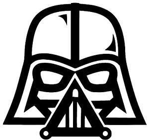 Darth Vader Star Wars Vinyl Decal Sticker Car Truck Bumper Window Sticker Oracle | eBay                                                                                                                                                                                 Más