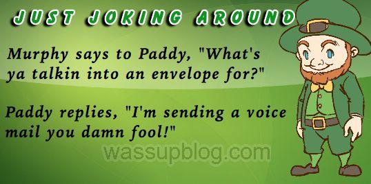 Funniest Irish Joke