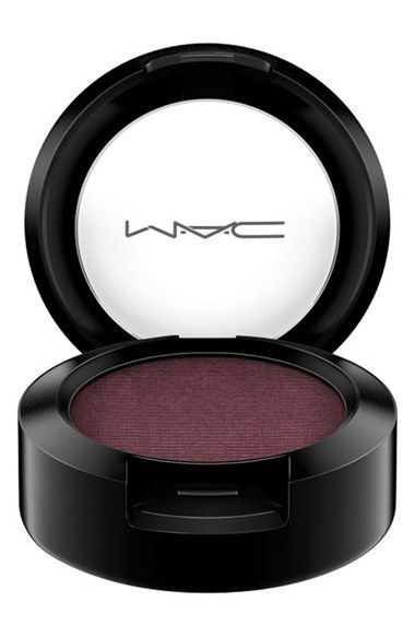 MAC eye shadow. Honey lust. Must have for blue or Green eyes. I've used this eyeshadow for years! I always get compliments on my blue eyes when I wear it. <3