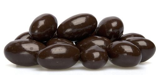 Dark Chocolate Covered Almonds - You can't go wrong with this decadent delight! The perfect blend of crunchy almonds with smooth, creamy dark chocolate makes these tasty treats the perfect afternoon snack or post dinner dessert!