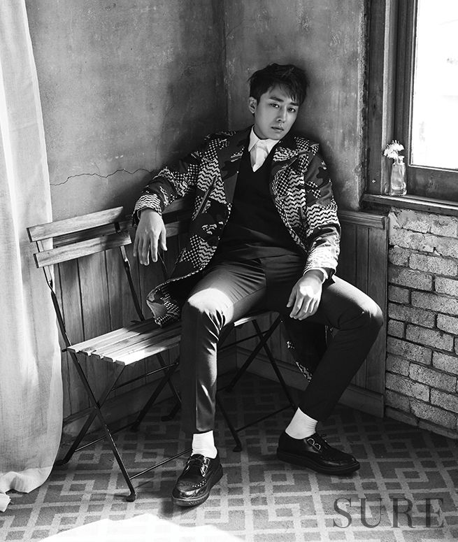 Son Ho Joon - Sure Magazine April Issue '16