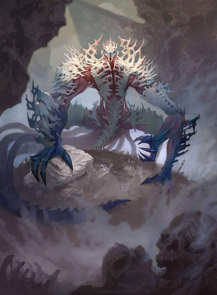 Dust Stalker - Battle for Zendikar MtG Art