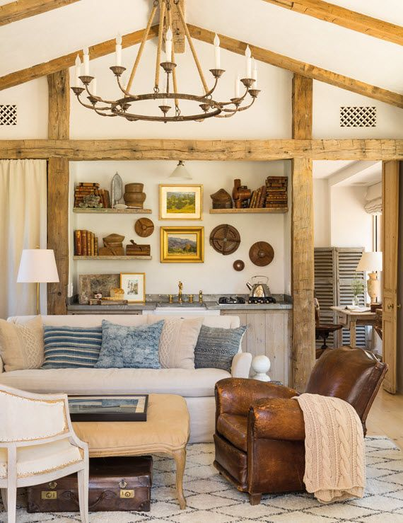 living room // steve and brooke giannetti // patina farms