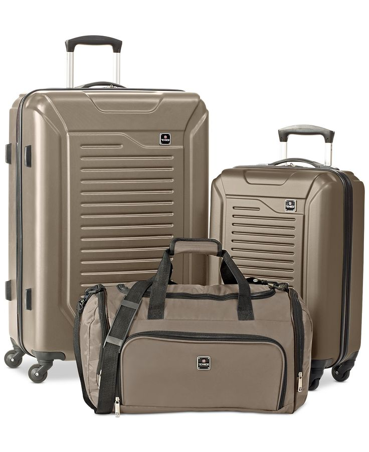 Tag Vector 3 Piece Hardside Luggage Set, Only at Macy's - Luggage Sets - luggage & backpacks - Macy's