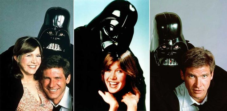 Carrie Fisher and Harrison Ford | Rare, weird & awesome celebrity photos