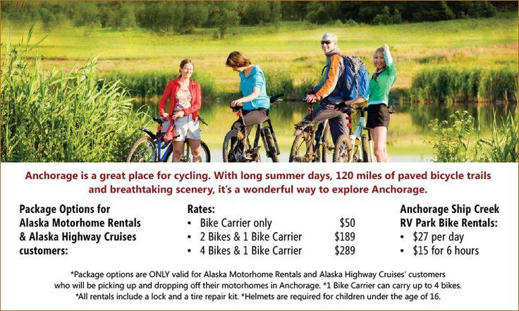 Anchorage Bike Rentals