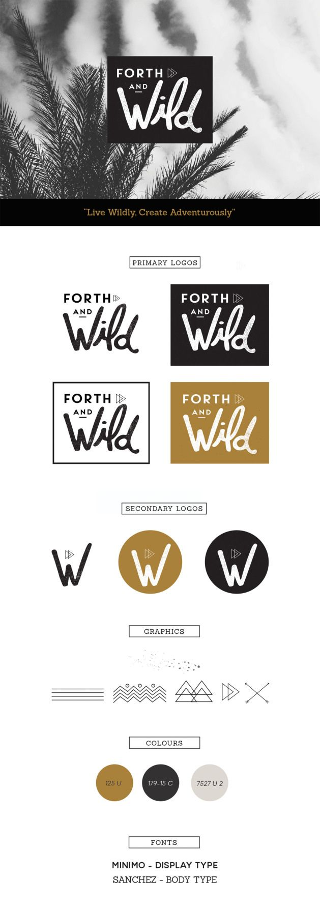 Forth and Wild Branding