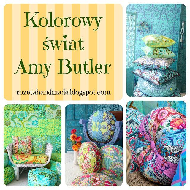 Rozeta handmade: Tkaniny/wzory, fabric, material, pattern, Amy Butler,