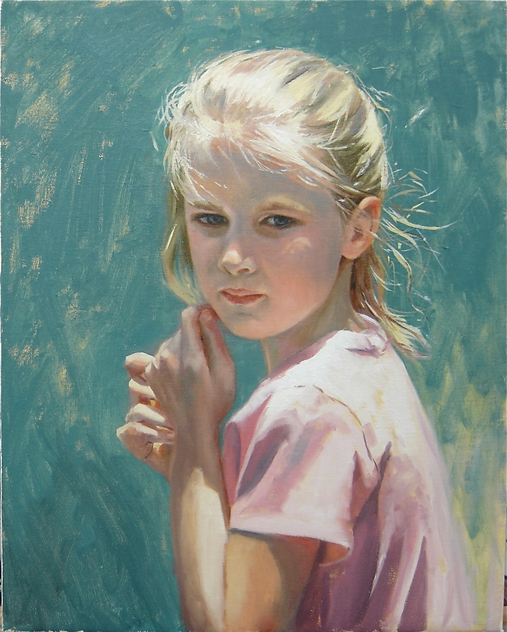 3017 best images about childrens in art on pinterest for Oil painting for kids