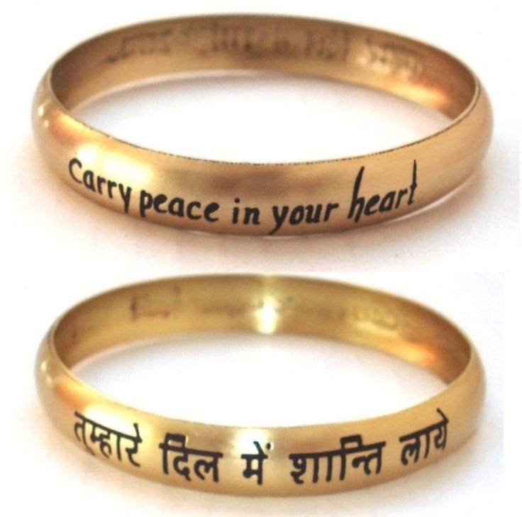 ShopMira.com. Peace In Your Heart Bangle