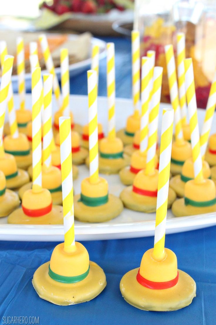 Curious George Birthday Party Ideas   From SugarHero.com