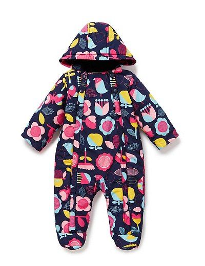 Assorted Print Snowsuit | Marks & Spencer London