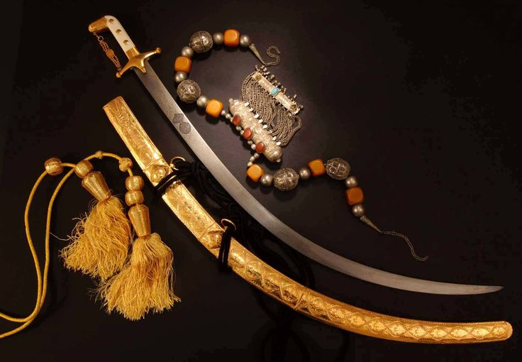 Islamic Sword - Pin by: /\/\\