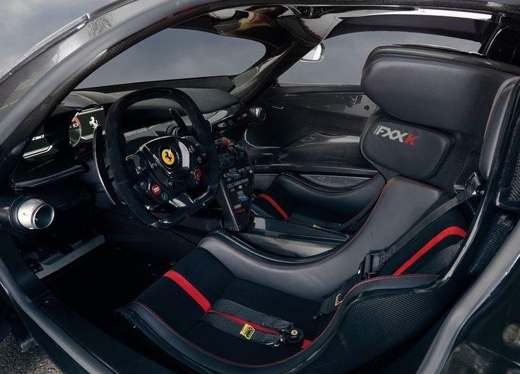 2015 Ferrari FXX K Interior