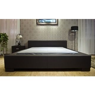 Shop for Greatime Faux Leather Low Platform Bed. Get free shipping at Overstock.com - Your Online Furniture Outlet Store! Get 5% in rewards with Club O!