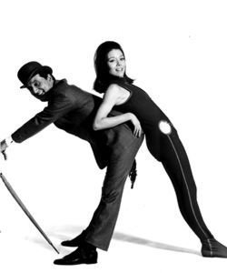The Avengers TV Show - a TV series that has yet to be rivalled for its wit, adventure and sheer style. The urbane agent John Steed (Patrick Macnee) swung his way through the 1960s with a succession of impossibly cool female characters, particularly the iconic, catsuited Mrs. Emma Peel (Diana Rigg).