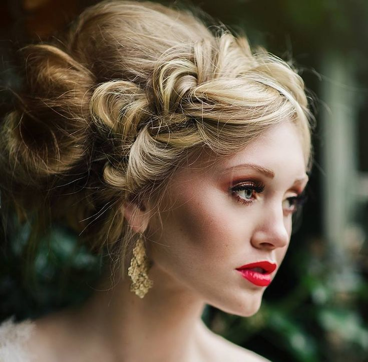 Stunning wedding hairstyle from Allure Bridals. To see more: http://www.modwedding.com/2014/05/03/allure-bridals-wedding-dresses-2014/ #wedding #weddings #hairstyle
