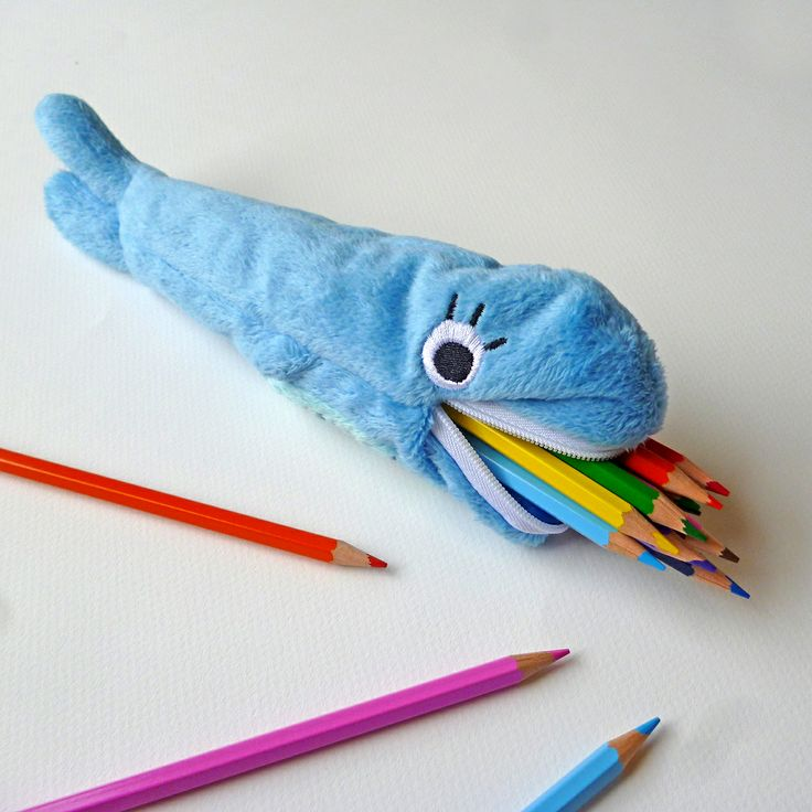 "Paperchase - ""We whaley like this pencil case. This timid but slow-moving whale also know as  (Pencilinus eatalotus) only eats coloured pencils and is a real danger around children. Please be careful around this small, but hungry little mammal. #NatStatWeek #GetBritainWriting #LoveStationery"""