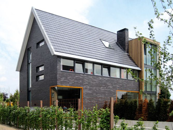 Huis zadeldak google zoeken lofthuizen ideeen pinterest house house facades and modern - Landscaping modern huis ...