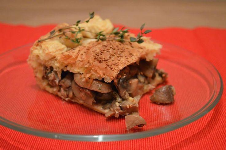 Quick 'n Easy Succulent Mushroom Pie