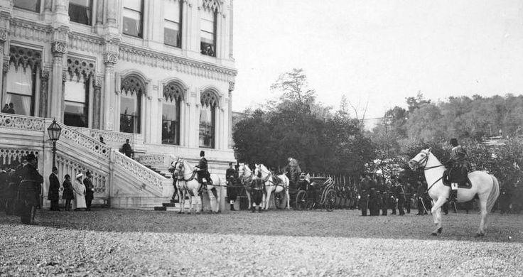 Çırağan Sarayı 14.11.1909