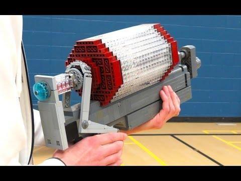 Syringe #Gun From #TeamFortress 2 #Game Recreated Using #LEGO Blocks