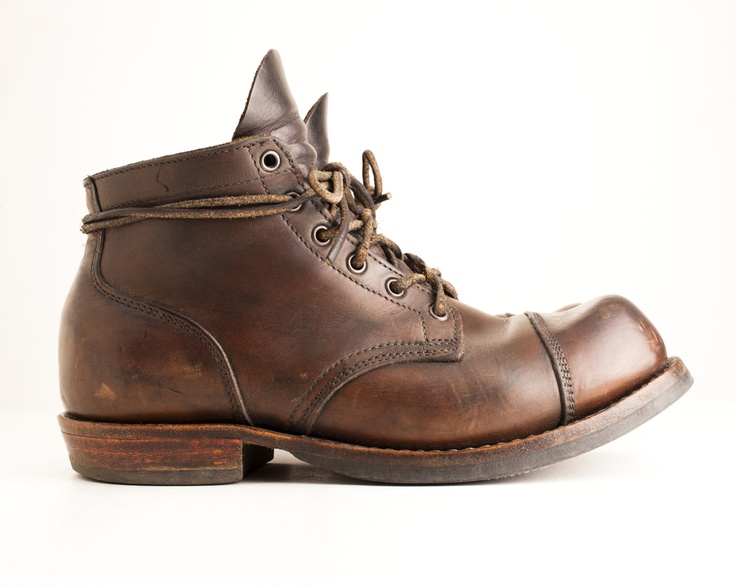 Pre-owned - Leather lace ups Viberg 649leax