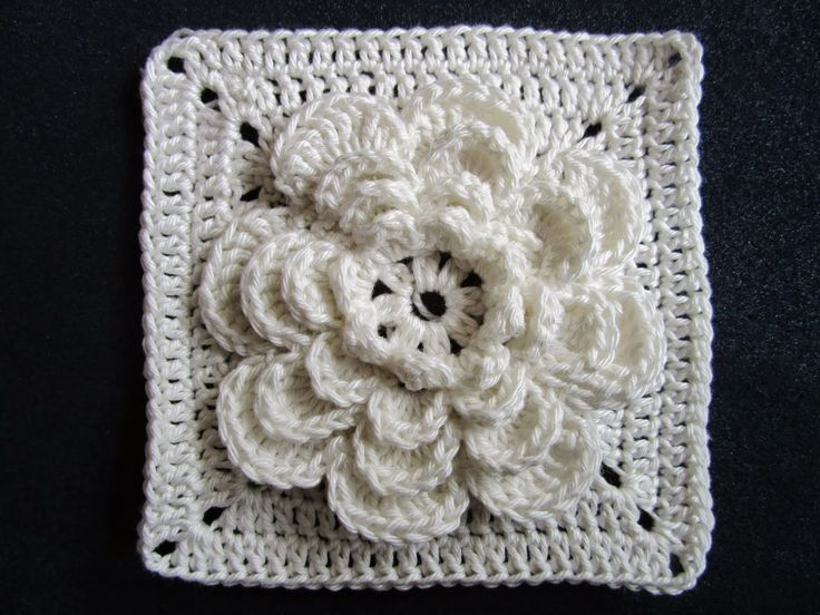riasquilts: (Flower Granny) awesome square, Dutch photo tutorial