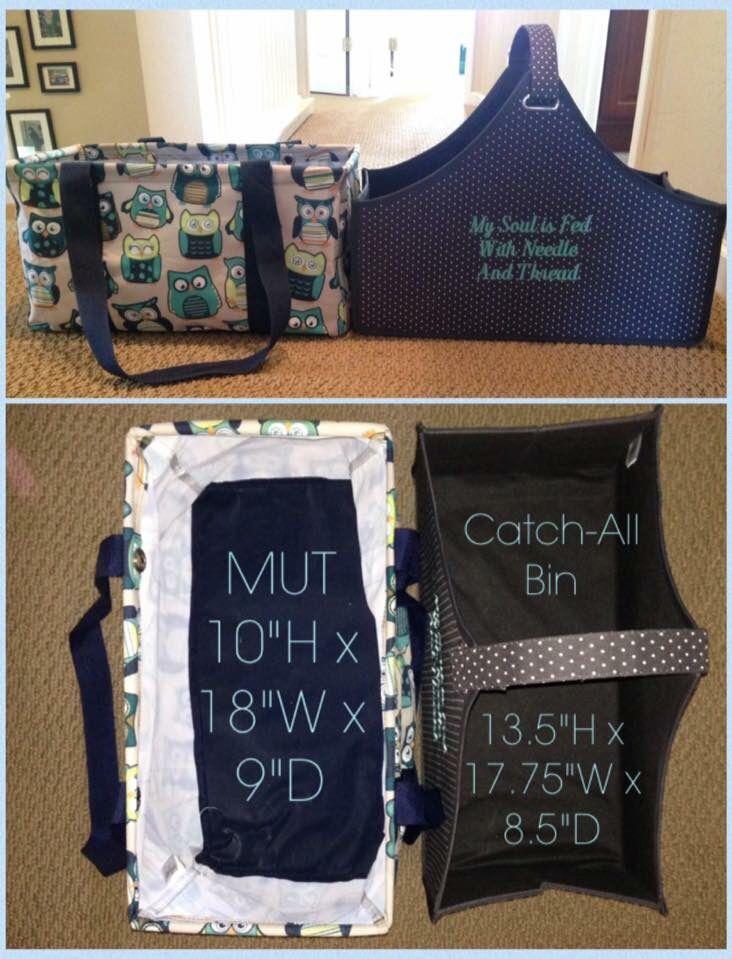 MUT  vs. catch all bin. Thirty One Gifts.  #31 #thirtyone # thirtyonegifts