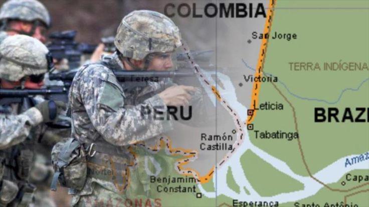 E o exército dos EUA chegará à Amazônia?