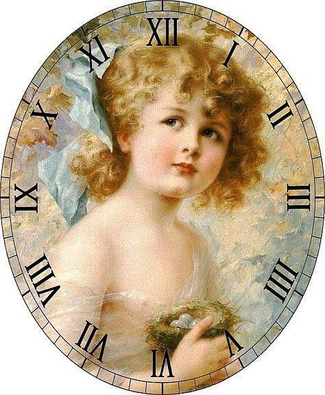 Схема вышивки «часы» - Вышивка крестом