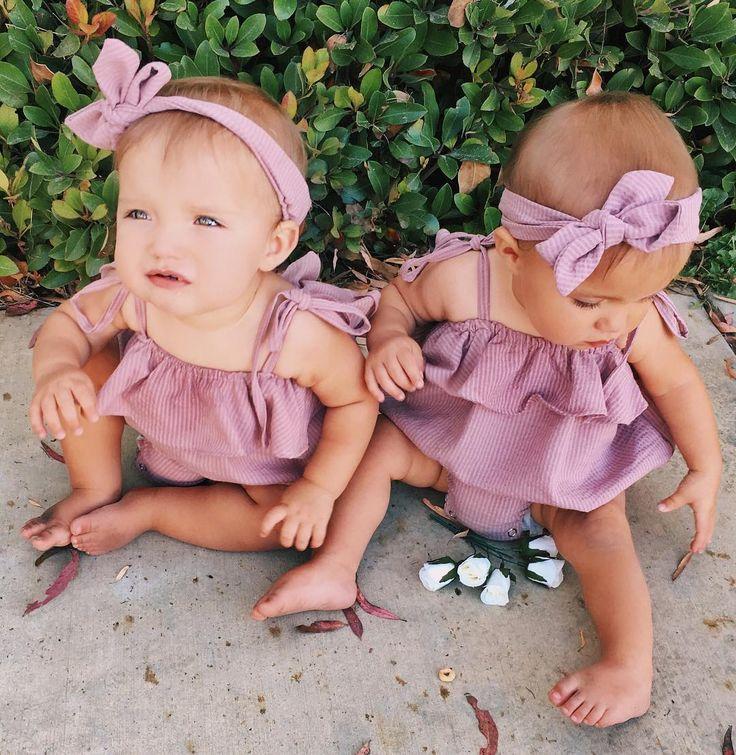 Близнецы фото дети девочки