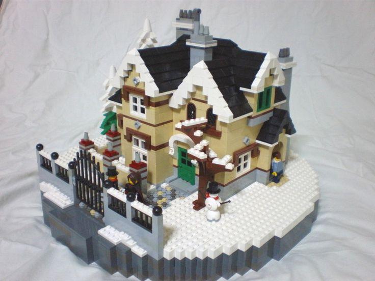 Lego Christmas: winter house