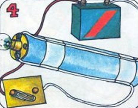 Cómo hacer un faro con una pila - 5 pasos (con imágenes)