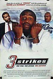3 Strikes Full Movie 123. Brian Hooks plays a character who is just released from jail. And the state adopts a 3 strikes rule for felons that involves serious penalties. Hooks has 2 strikes, and wants to change ...