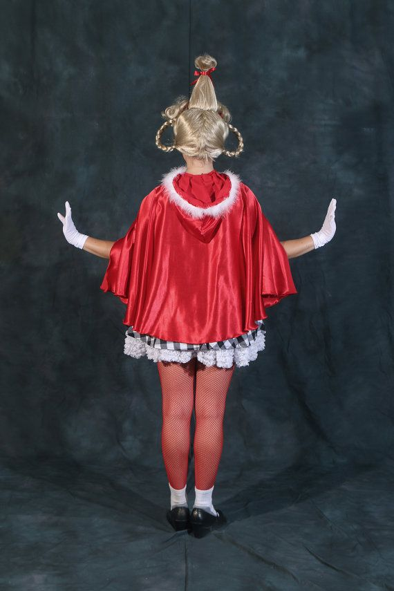 Handmade Adult Cindy Lou Who Costume How The Grinch Stole ...