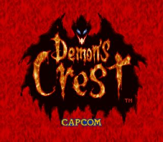 Demon's Crest (Game) - Giant Bomb