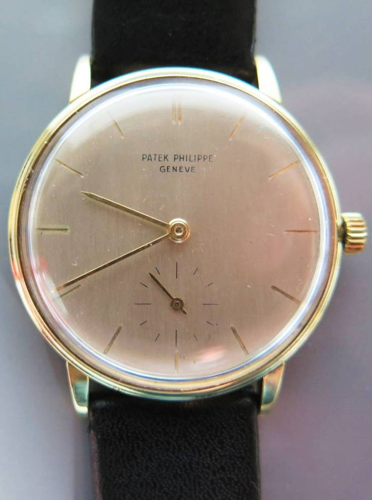 Patek Philippe Calatrava 18k Gold Gents Wrist Watch to be auctioned 15/6/16